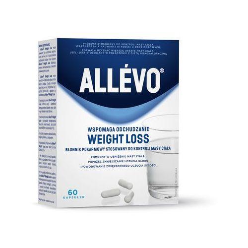 Allevo Weight Loss wspomaga odchudzanie (Błonnik) 60 kapsułek - kapsułki Tabletkina odchudzanie