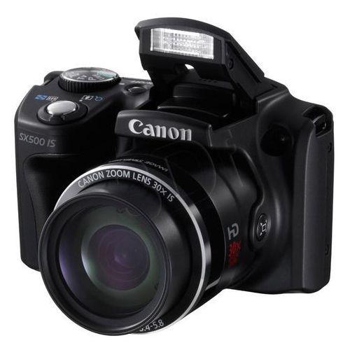Aparat Canon PowerShot SX500 z zoomem optycznym [30x]