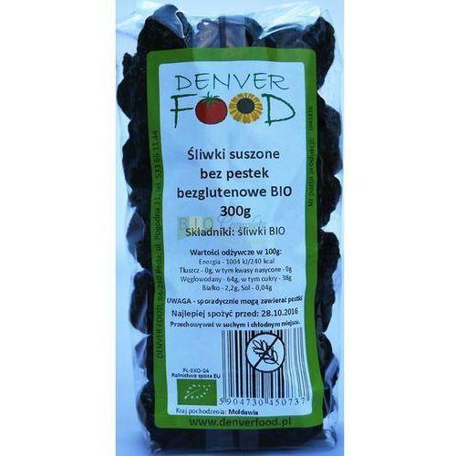 Śliwki Suszone bez pestek Bezglutenowe BIO 300 g Denver Food, 5904730450737