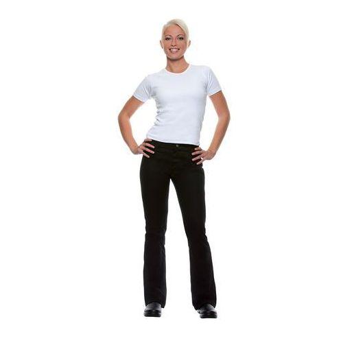 46a039aba507c Spodnie damskie, rozmiar 46, czarne | KARLOWSKY, Tina 223,25 zł Spodnie  damskie, sanforyzowane, 97% bawełny, 3% EOL, 270 g/m2. Wysokość do bioder,  szyte na ...