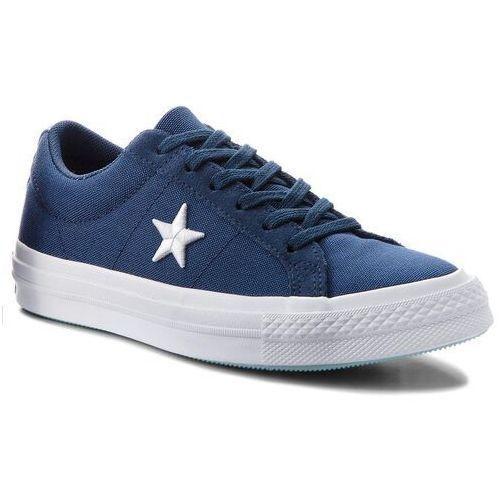 Tenisówki - one star ox 160598c navy/white/ocean bliss marki Converse