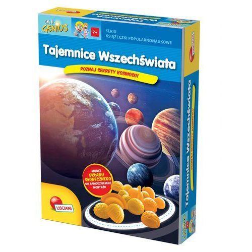 Tajemnice wszechświata, Książeczki I M A Genius - Lisciani DARMOWA DOSTAWA KIOSK RUCHU (9788365878267)