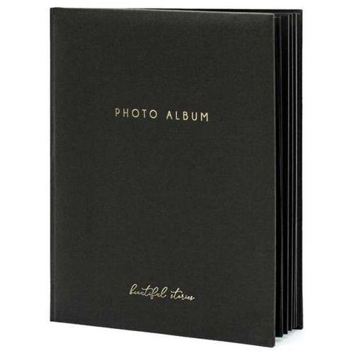 """Album na zdjęcia """"beautiful stories"""", , 20 x 24,5 cm, czarny, 22 kartki marki Partydeco"""