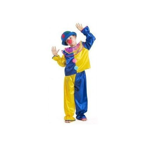 Strój Klaun żółty - przebrania / kostiumy dla dzieci, odgrywanie ról - 134 cm, Aster z www.epinokio.pl