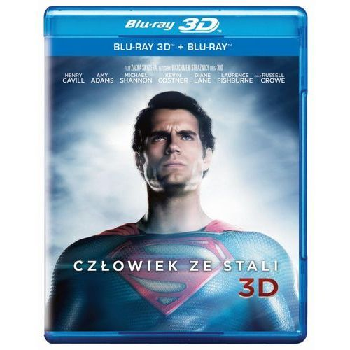 Galapagos films / warner bros. home video Człowiek ze stali 3 - d (7321999326623)
