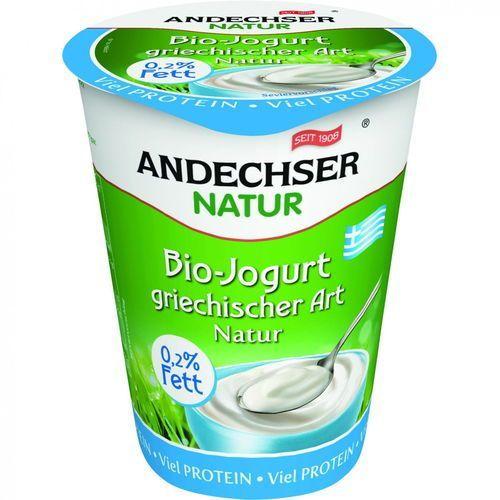 Jogurt typu greckiego 0,2% BIO 400 g Andechser Natur (4104060031427)