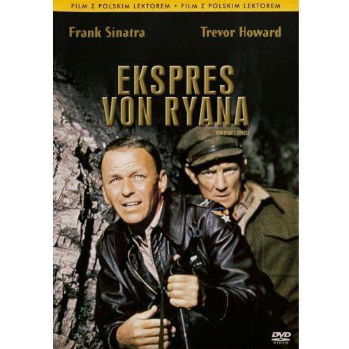 Imperial cinepix Ekspres von ryana (dvd) - mark robson darmowa dostawa kiosk ruchu