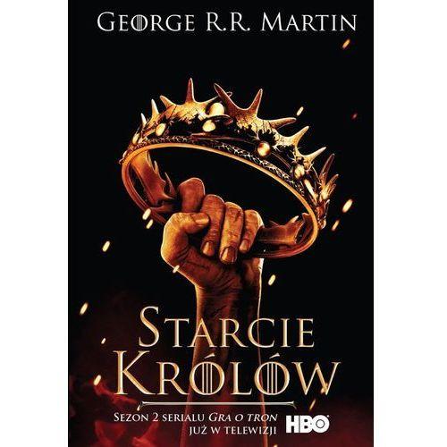 Pieśń Lodu i Ognia. Tom 2. Starcie królów. Okładka filmowa, George R. R. Martin
