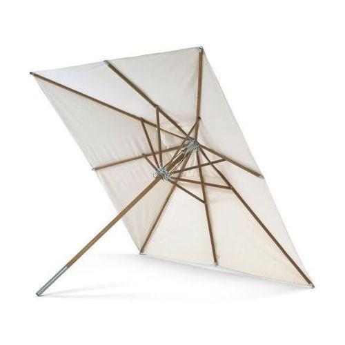 Skagerak ATLANTIS Parasol Ogrodowy 330x330 cm - Drewno Meranti (parasol ogrodowy)