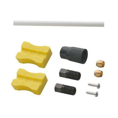 Shimano Przewód hamulcowy hydrauliczny deore sm-bh90-ss 1000 mm przód biały (4524667777380)