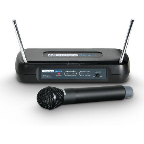 eco 2 hhd b6 ii bezprzewodowy system, mikrofon doręczny, pojedynczy marki Ld systems