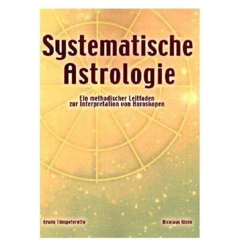 Systematische Astrologie Tönspeterotto, Erwin (9783898111249)