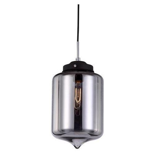 Skandynawska LAMPA wisząca TUBE MDM2095/1 A Italux szklana OPRAWA zwis szkło lustrzane