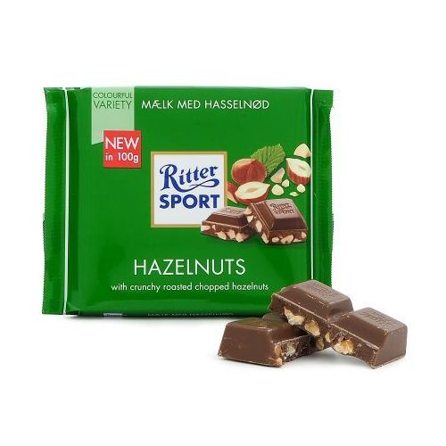 Ritter sport czekolada 100g orzechowa