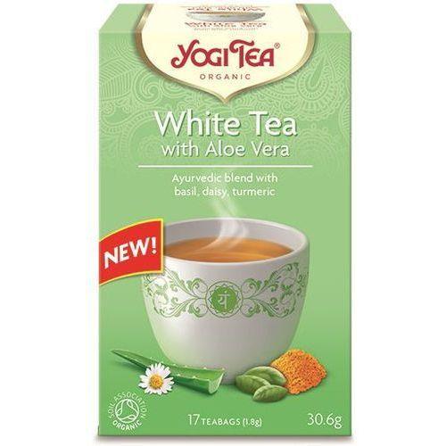 Herbata Biała z Aloesem BIO 17 x 1,8 g Yogi Tea, 4012824403741