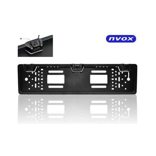 rc6050p samochodowa kamera z czujnikami cofania wbudowana w ramkę rejestracyjną z ir marki Nvox