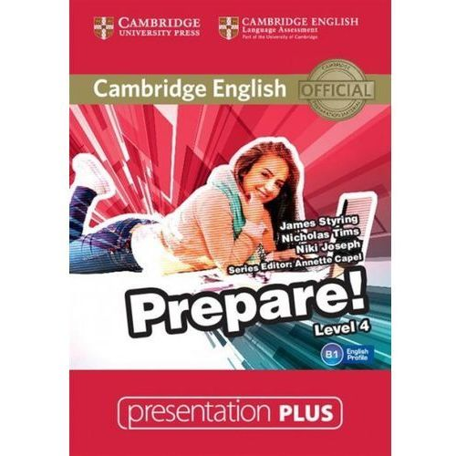 Cambridge English Prepare! 4 Presentation Plus DVD (2016)