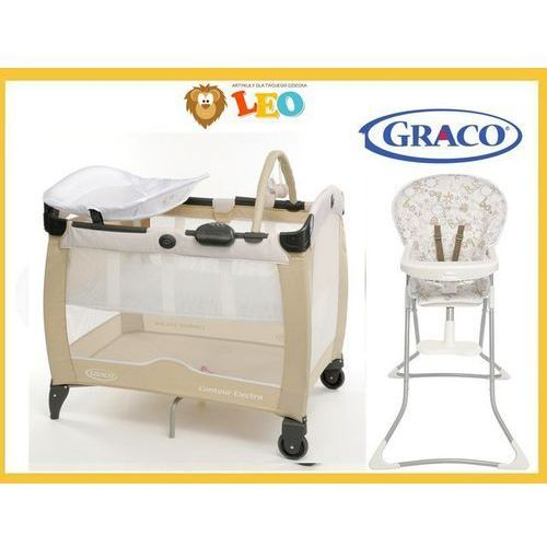 ŁÓŻECZKO TURYSTYCZNE KOJEC CONTOUR ELECTRA GRACO +Krzesełko Benny&Bell Gratis !!! - produkt dostępny w LEO