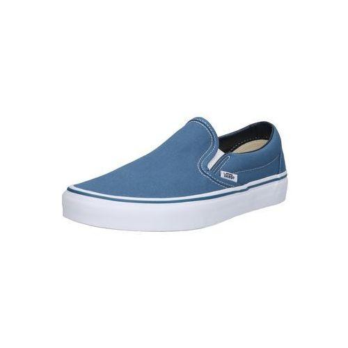 pantofle 'classic slip-on' granatowy / biały marki Vans