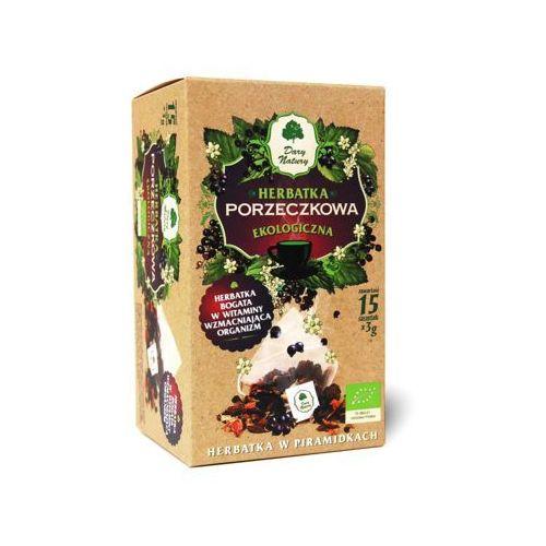 15x3g herbata porzeczkowa piramidki bio marki Dary natury