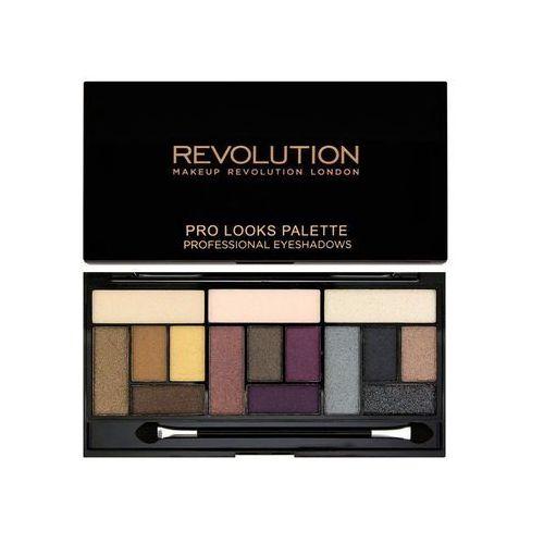 Makeup revolution pro looks big love paleta cieni do powiek (3 looks in 1 palette) 13 g (5029066040503)