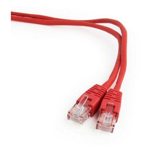 Kabel sieciowy UTP Gembird PP12-1M/R kat. 5e, Patch cord RJ-45 (1 m), 1_130805
