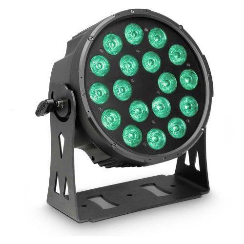Cameo FLAT PRO 18 - 18 x 10 W FLAT LED RGBWA PAR - reflektor LED w czarnej obudowie