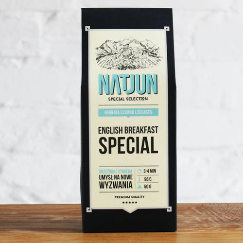 Herbata czarna english breakfast special 50 g marki Natjun