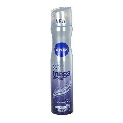 Nivea mega strong lakier do włosów bardzo mocno utrwalający (styling spray) 250 ml (9005800231549)