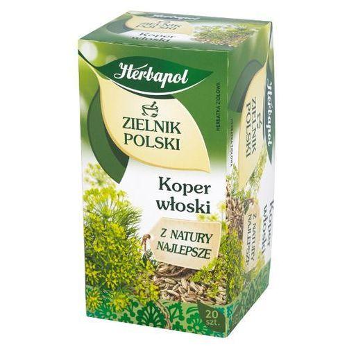HERBAPOL 20x2g Zielnik Polski Koper włoski Herbatka ziołowa