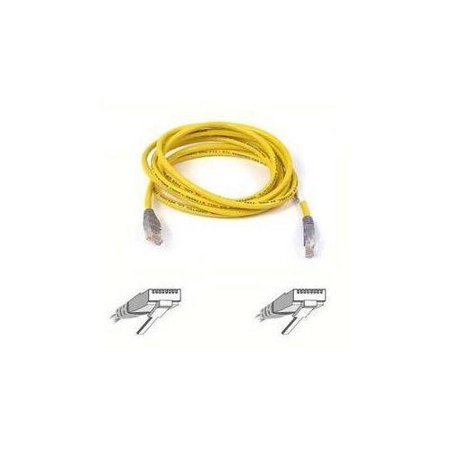 Kabel Belkin Patch CAT5E křížený,15m (F3X126b15M) Szary /Żółty (kabel transmisyjny do telefonu)