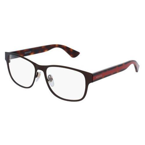 Okulary Korekcyjne Gucci GG0007O 004