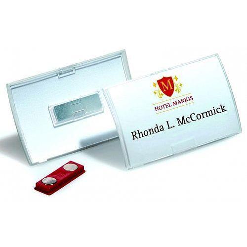 Identyfikator 54x90mm Click Fold z magnesem Durable 8215-19, 10szt.