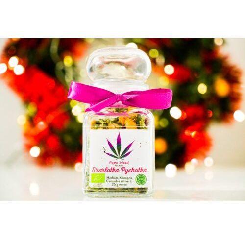 Papaweed Herbata konopna eko szarlotka susz cbd szkło 25g