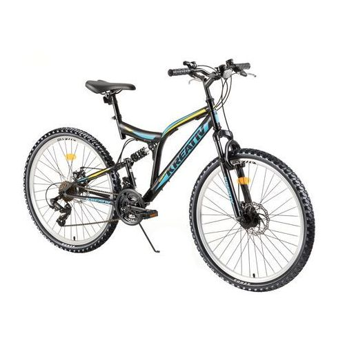"""Rower z amortyzatorami Kreativ 2643 26"""" - model 2018, Czarny (8596084073471)"""