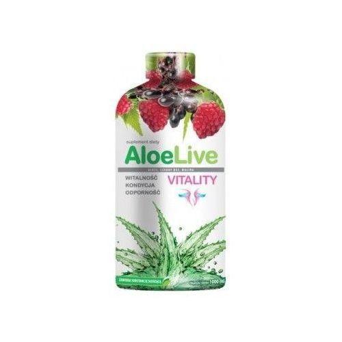 Laboratoria natury Aloelive vitality sok z aloesu 1000ml
