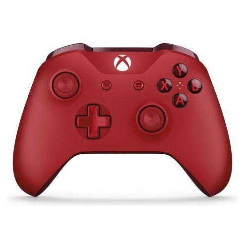 Kontroler xbox one czerwony + kontroler 20% taniej przy zakupie konsoli xbox! + zamów z dostawą jutro! + darmowy transport! marki Microsoft