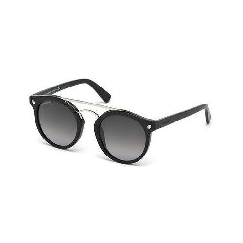 Okulary słoneczne dq0202 junior 01b marki Dsquared2