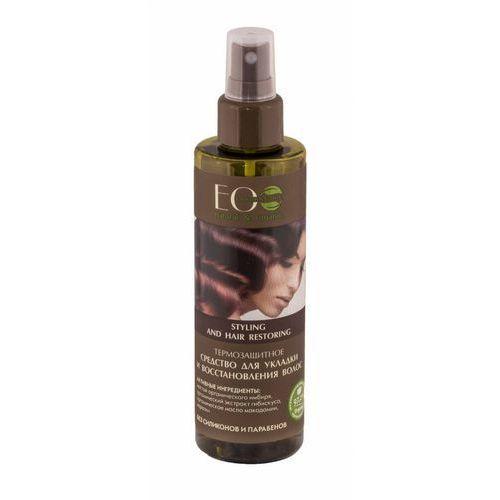 EcLab - Termoochronny spray do układania włosów, 4627089430489