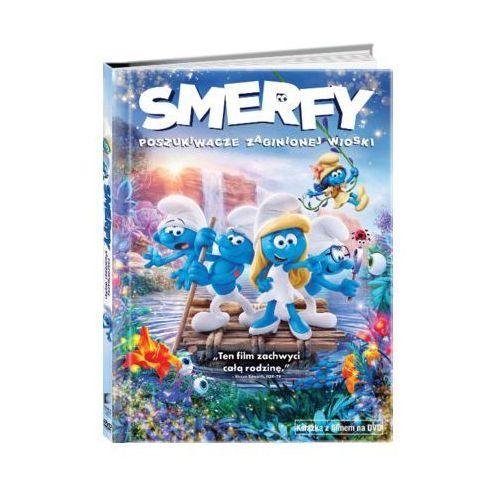 Smerfy: Poszukiwacze zaginionej wioski (DVD) + Książka