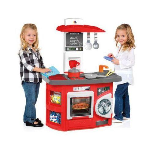MOLTO Czerwona kuchnia dla dzieci (kuchnia zabawka) od pinkorblue pl ,  Poró   -> Kuchnia Dla Dziecka Od Jakiego Wieku