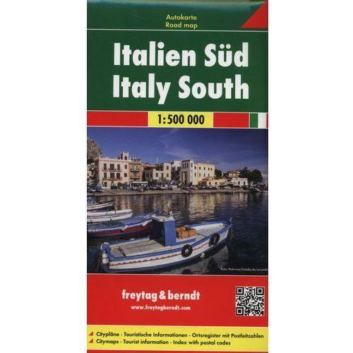 Włochy część południowa Mapa 1:500 000 (2016)