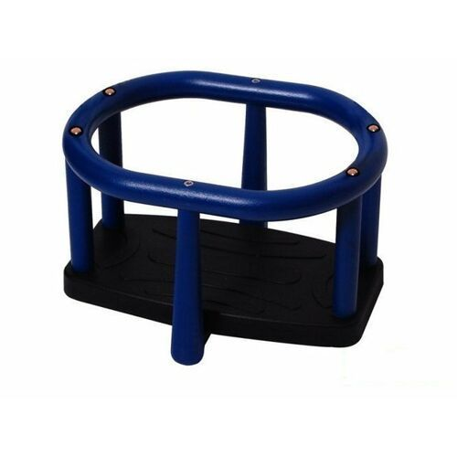 Huśtawka kubełkowa LUX - niebiesko-czarny