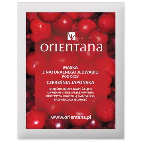 - maska tkaninowa pod oczy - czereśnia japońska marki Orientana