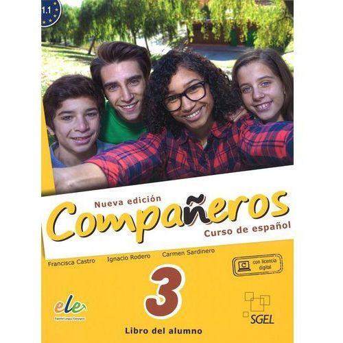 Companeros 3 Podręcznik + licencia digital - nueva edicion, SGEL-Educacion