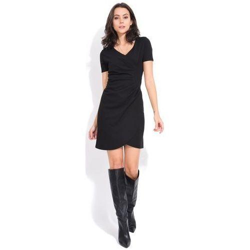 b353b82763 sukienka damska tango 40 czarny marki Fille du couturier 261