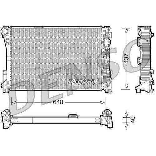Chłodnica, układ chłodzenia silnika DENSO DRM17046 (8717613485514)