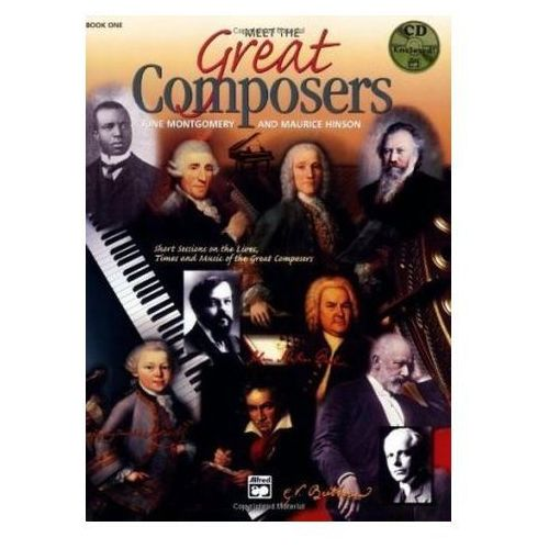 Meet the Great Composers, w. Audio-CD. Book.1 Montgomery, June C. (9780882848556)