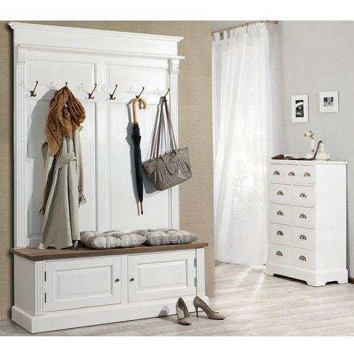 garderoba do przedpokoju brighton szeroka, 139cmx45cmx210cm marki Dekoria