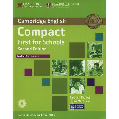 Compact First for Schools 2nd Edition. Ćwiczenia z Kluczem (2014)